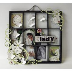 Display memories of your experience in a vintage window. #SavingMemories #PhotoDisplay