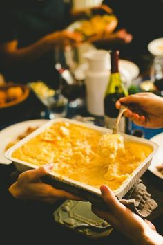 We found some awesome recipes for mashed potatoes for Thanksgiving. Or heck, for Christmas, Mother's Day and for our birthdays.
