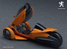 Peugeot, Concept Car, LiiON, Futuristic Design, Futurism
