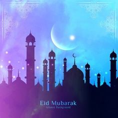 20 Beautiful Happy Eid al Fitr Wallpapers & Backgrounds In Vector. Beautiful wallpapers and backgrounds of Eid al Fitr and Eid Mubarak in vector format Eid Mubarak Hd Images, Eid Mubarak 2018, Eid Mubarak Wishes, Happy Eid Mubarak, Adha Mubarak, Eid Al Adha 2018, Eid Al Fitr, Eid Wallpaper, Wallpaper Backgrounds