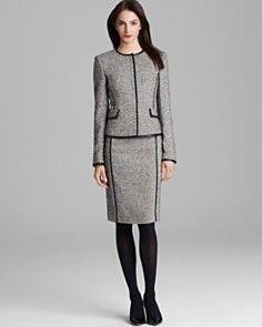 BOSS Hugo Boss Blazer & Skirt_0