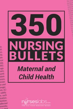 Increase your knowledge and confidence for the Nursing Licensure Exam (NLE) or NCLEX with these easy to digest information regarding the concepts of Maternal and Child Health Nursing. These bullets cover topic about labor, pregnancy, nursing care of the newborn, developmental stages and many more!