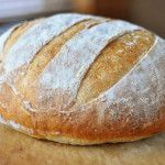 Rustic Crusty Bread {A Simple How-To}