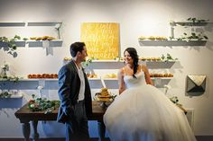 Brunch Morning Wedding ~ Sunday Kind of Love. Dessert Display, pancake cake, muffins, donuts and more!