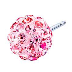 Blomdahl NT Crystal Ball 6mm Light Rose D