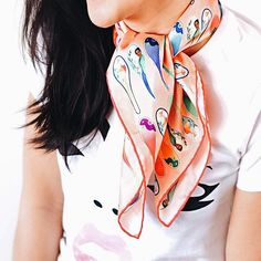 Each Nonamu silk scarf design is inspired by Malaysian Nyonya culture. Check out how carefully crafted these prints are!…