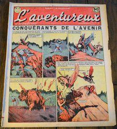 L'aventureux 1ere Annee 1936 N 4 : Conquerants de L'avenir
