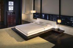 Worth Bed Wenge/White