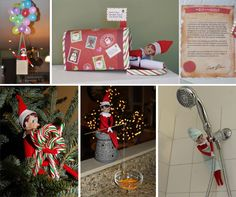 Silly Holiday Elfcapades for Elf on the Shelfo