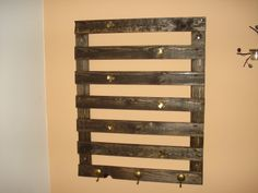 My first coat hanger  #CoatHanger, #Pallet