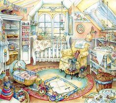 Kim Jacobs ~ Baby's Room