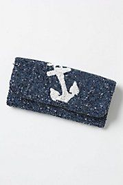 Anchor Twinkle Clutch - Anthropologie