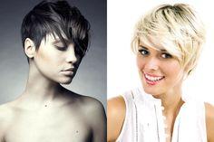 capelli corti moderni