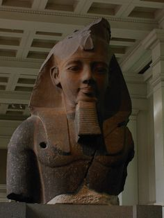 Head of Pharoah, British Museum