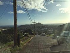 さとうあつこのハワイ不動産: 売却のご相談の帰りの景色