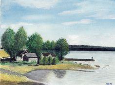 Nordische Landschaft, U. Ketschmer