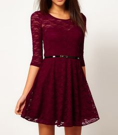<p>Enhance your beauty with this lace skater dress. This dress is made from high quality material, soft to touch and comfortable to wear. With exquisite design and fine workmanship, it is surely a perfect choice for you will add brilliance to your present splendor.</p>