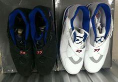 hot sale online 94b09 11599 air jordan viii low jared jeffries pe set on ebay 05 570x400 Air Jordan  VIII Low Jared Jeffries Knicks PE Set on eBay