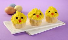 All-in-One Baby Chick Cupcakes