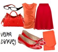 velma dinkley inspired outfit