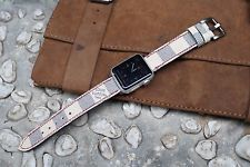 Damier Azur Canvas Leather Watch Strap for Apple Watch 1 and 2 @panerai_singapore @panerai_asia #pamclubasia #PAMClubAsia #officinepanerai #radiomir #luminor #eightdays #simplictyofinnovation #florence #italy #italiannavy #timesquare #applewatch #applewatchstrap