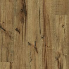 5.43-in W x 3.976-ft L Antique Hickory Handscraped Laminate Wood Planks