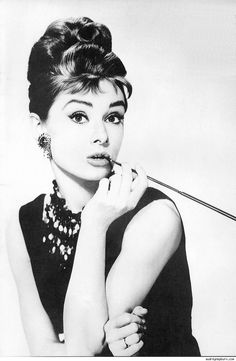 Audrey Hepburn. Breakfast at Tiffany's