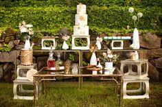 Mid-Century Modern Art Wedding Inspiration