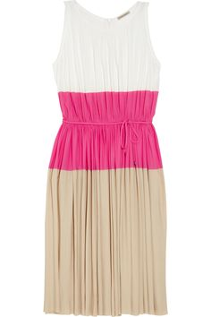 Tomas Maier - colour block jersey dress via net a porter