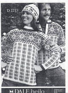 Dale D2215 Dale Norway, Norwegian Knitting, Barbie, Fair Isle Knitting, Vintage Knitting, Christmas Sweaters, Knitting Patterns, Men Sweater, Crochet