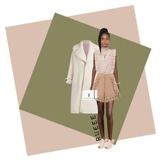 """""""Ruffle Truffle"""" by rueeee on Polyvore featuring Olympia Le-Tan, Halston Heritage, self-portrait, Yves Saint Laurent, MantraBand and Givenchy"""