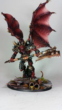 Bloodthirster of Insensate Rage. | by Arklight Studio