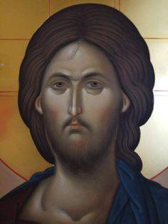 Byzantine Icons, Byzantine Art, Orthodox Icons, Lord, Portrait, Face, Holy Quotes, Cyprus, Fresco