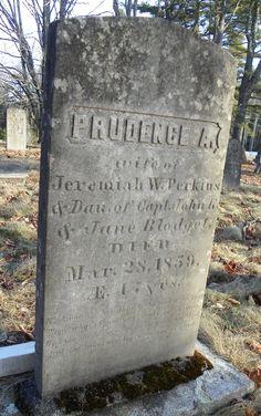 Prudence A <i>Blodgett</i> Perkins