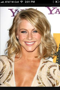 Julianne Hough .. Curled bob for evening
