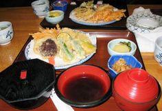 Assorted Tempura dishes of Japanese Cuisine