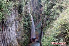 Enshi Grand Canyon in China's Hubei - China.org.cn