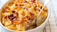 20 receptů na zapečená jídla z jednoho pekáče Food 52, Tofu, Mashed Potatoes, Macaroni And Cheese, Food And Drink, Healthy Recipes, Healthy Food, Treats, Fresh