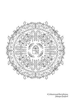 Flower Power Coloring Book by Alisa Burke Beautiful Coloring Circle by Johanna Basford Coloring Pages Winter, Blank Coloring Pages, Detailed Coloring Pages, Online Coloring Pages, Flower Coloring Pages, Christmas Coloring Pages, Printable Coloring Pages, Coloring Pages For Kids, Coloring Books