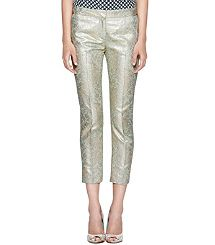 LOLA METALLIC PANT. Wish I could pull these off!