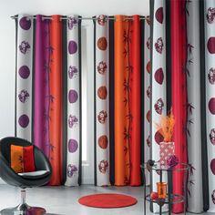 Tenda (140 x H260 cm) Sané Rosso : scegli tra tutti i nostri prodotti Rideaux