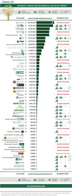 Top 40 Environmental Funders* – Who's Sharing Diversity Data? City Logo, Social Enterprise, Social Change, Data Visualization, Non Profit, Infographics, Foundation, Organization, Logos