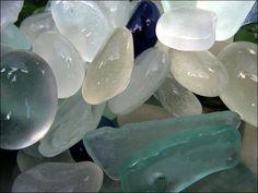 Sea Glass and polished agates