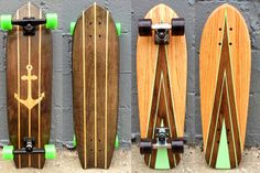 With a unparalleled sense of community spirit and awesome skill, Salemtown Skateboards are building incredible handmade, solid oak skateboards whilst mentoring the urban youth of Salemtown. Every board is a one-of-a-kind piece of skating artwork. 'Buy a board and change a life.' Check it out