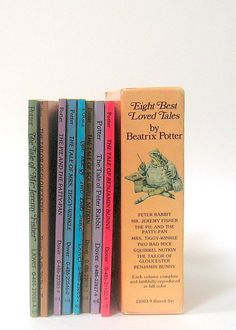 Beatrix Potter Collection 8 Small Children's от mysunshinevintage