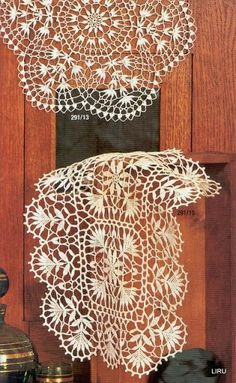 Crochet doilies from web - Barbara H. - Picasa Albums Web