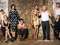 italian family dolce and gabbana-style