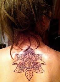Henna-style lotus by Laurent @ EAD Tattoo, Paris -beautiful piece! Henna Style Tattoos, Old Tattoos, Weird Tattoos, Feminine Tattoos, Flower Tat, Lotus Flower, Paris Tattoo, Tattoo Illustration, Jewelry Tattoo