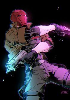Batman Robin, Batman Red Hood, Im Batman, Gotham Batman, Batman Art, Red Hood Comic, Red Hood Dc, Nightwing, Red Hood Wallpaper