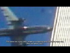 - New HQ Military Plane Footage - Undeniable new WTC Drone plane Proof World Trade Center, Trade Centre, 911 Conspiracy, Conspiracy Theories, We Will Never Forget, Lest We Forget, 11 September 2001, Inside Job, Creepy